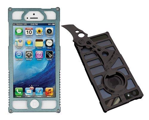 TactiCall Alpha 1 (タクティカル アルファ 1)iPhone 5 Case Charcoal I PHONE 5用ケース チャコールナイフ ボトルオープナー付
