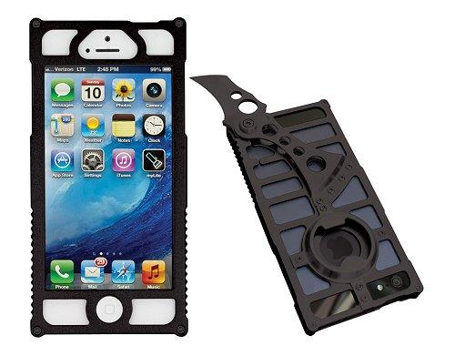 TactiCall Alpha 1 (タクティカル アルファ 1)iPhone 5 Case BlackI PHONE 5用ケース 黒ナイフ ボトルオープナー付