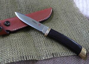 HATTORI(ハットリ)3718 シースナイフ黒檀 VG10