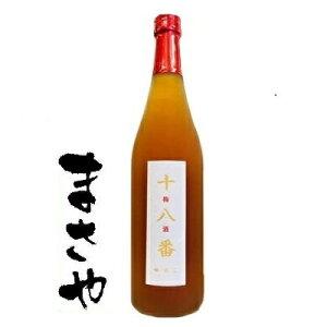 紅乙女酒造 十八番(おはこ)梅酒 18度 720ml JAN4985159210363
