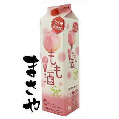 中国醸造 女子美酒部 もも酒 2000mlパック 代引き不可 JANコード4901903083267