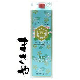宮崎本店 キンミヤ焼酎 1800ml 25度 パック 代引き不可 JANコード4977991318215