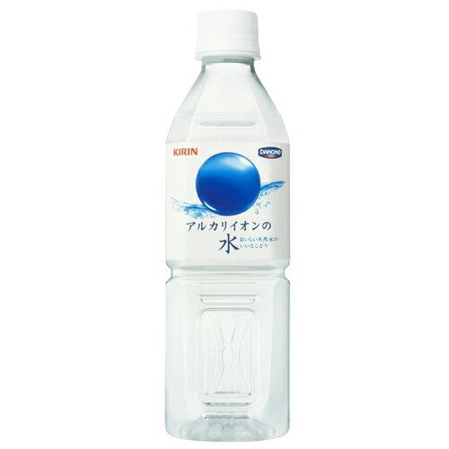 【ミネラルウォーター】キリン アルカリイオンの水 500ml ペット 1ケース《24本入》《1配送あたり最大2ケースまで同梱OK!》