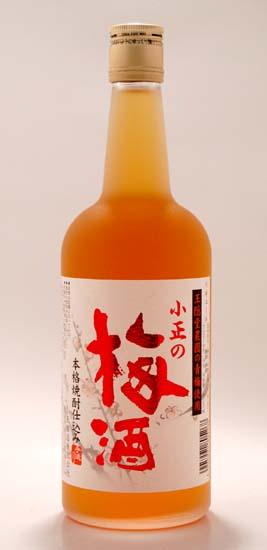 【小正醸造】小正の梅酒 720ml 14度 []