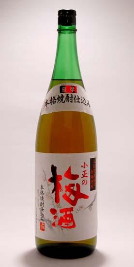 【小正醸造】小正の梅酒 1.8L 14度 []