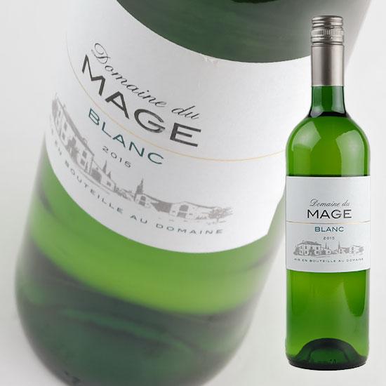 【ドメーヌ デュ マージュ】 マージュ ブラン [2016] 750ml・白 【Domaine du Mage】 Mage Blanc