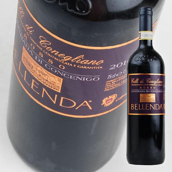 【ベッレンダ】 コントラーダ ディ コンチェニゴ コッリ ディ コネリアーノ ロッソ 750ml・赤