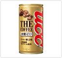 【缶コーヒー】UCC THE COFFEE 砂糖ゼロ 185g  缶 1ケース《30本入》《1配送あたり最大4ケースまで同梱OK!》