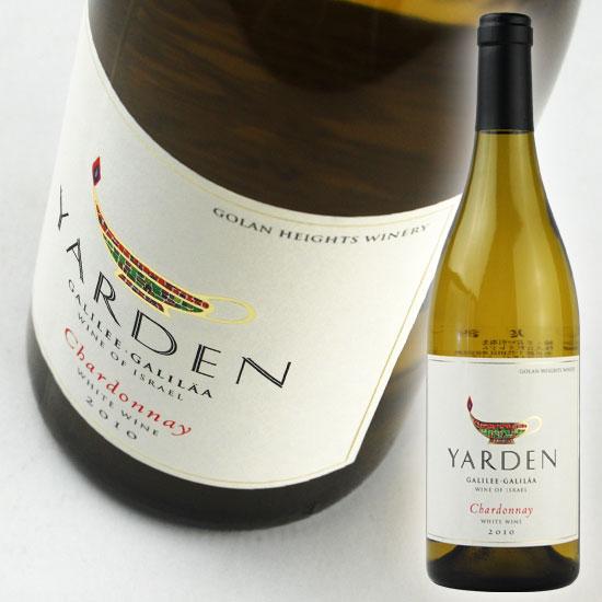 【ゴラン ハイツ ワイナリー】 ヤルデン シャルドネ [2016] 750ml・白 【Golan Heights Winery】 Yarden Chardonnay