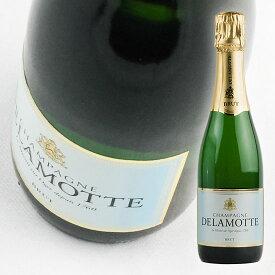 【ドゥラモット】 ブリュット ハーフ [NV] 375ml・白泡 ハーフボトル 【Delamotte】 Brut Half [NV]