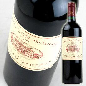 パヴィヨン ルージュ ド シャトー マルゴー [2007] 750ml 赤 Pavillon Rouge du Chateau Margaux
