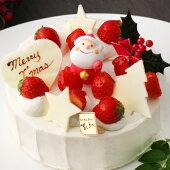 店頭引取り★クリスマスデコレーションケーキ