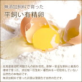 平飼い自然卵