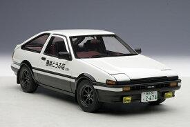 AUTOart 1/18 トヨタ スプリンタートレノ (AE86) 新劇場版 「頭文字 (イニシャル)D覚醒」 完成品