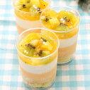 オレンジ・キウイ・パイン『フルーツカクテル』2個入 ムースケーキ お中元ギフト 夏の贈り物