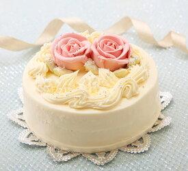 バタークリームケーキ 5号 懐かし昭和の味わい誕生日ケーキ