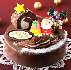 ロールノセタ(6号サイズ) 18cmのチョコレートケーキ 【クリスマスケーキ 2019】【送料500円】※九州は送料900円、沖縄は配送不可【ネット限定】【予約】【限定】【人気】