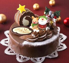 ロールノセタ(6号サイズ) 18cmのチョコレートケーキ 【クリスマスケーキ 2021】※沖縄は配送不可【ネット限定】【予約】【限定】【人気】
