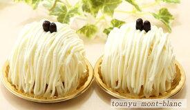 甘さ1/2♪『豆乳モンブラン』2個入北海道スイーツ ヘルシーケーキ