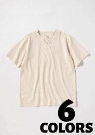 JACKMAN【ジャックマン】Henley neck T-Shirt 【19FW】