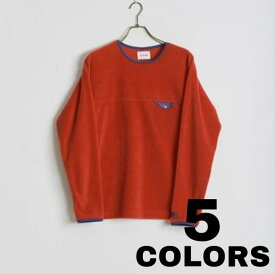 CAL O LINE【キャルオーライン】LIGHTWEIGHT FLEECE CREW-NECK