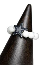 Le semeur ルスムール STAR RING スターリング (ホワイトオニキス・TOP部分 3TYPE)