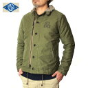 NAKED SUN ネイキッドサンN-1 DECK JACKET(NON-STRETCH with PRINT)016001002-OLIVE-2U