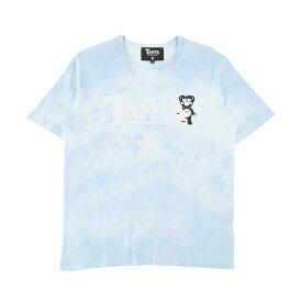 TANTA タンタ Tシャツ メンズ ブルー 大阪 アメ村 オンライン 通販 logolilchappybl