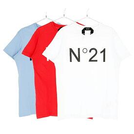 N°21 ヌメロヴェントゥーノ Tシャツ メンズ ホワイト レッド ライトブルー 大阪 アメ村 オンライン 通販 90119suf0216332