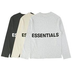 ESSENTIALS エッセンシャルズ Tシャツ メンズ ブラック ベージュ グレー 大阪 アメ村 オンライン 通販 新作 2020AW 002boxylongslee