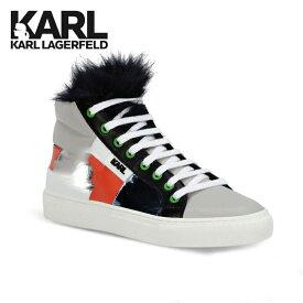 カールラガーフェルド Karl Lagerfeld ハイカットスニーカー ユニセックス マルチカラー スニーカー フォー ファー フェンディ FENDI 即納 CHANEL シャネル G-DRAGON 鞄 レア プレゼント レディース メンズ【お買上げ11,000円以上で送