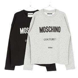 MOSCHINO モスキーノ トレーナー メンズ ブラック グレー 大阪 アメ村 オンライン 通販 00199k0223121