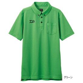 ダイワ ボタンダウンポロシャツ DE-6507 L グリーン