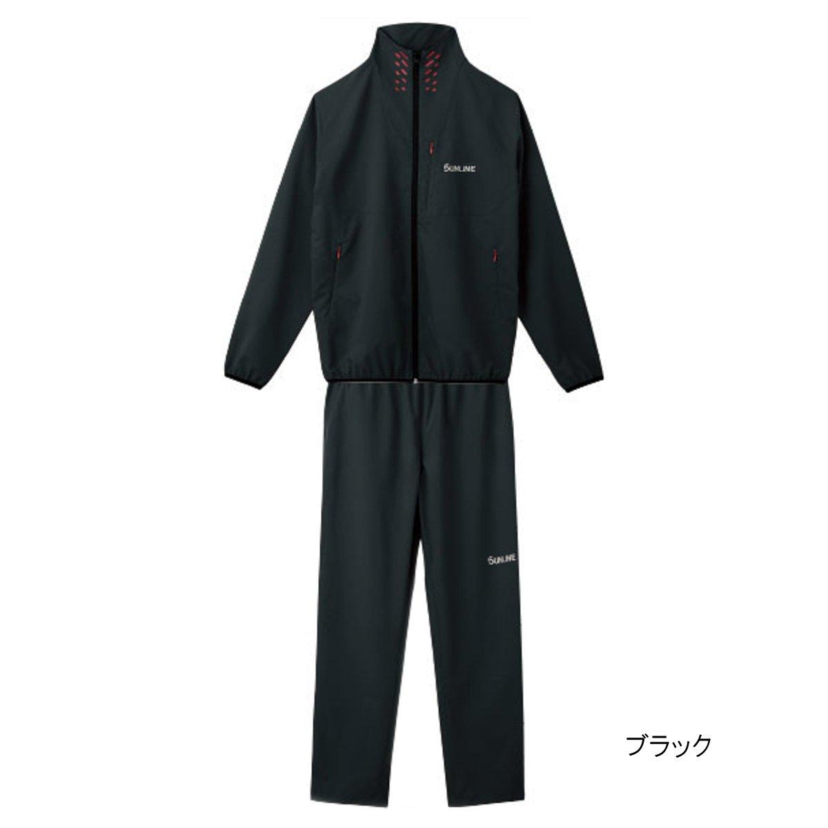 ライトストレッチスーツ SUW-3226 L ブラック【送料無料】