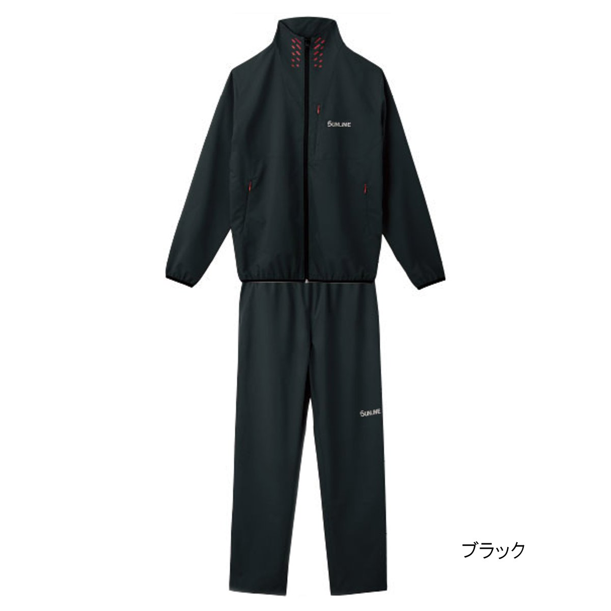 ライトストレッチスーツ SUW-3226 LL ブラック【送料無料】