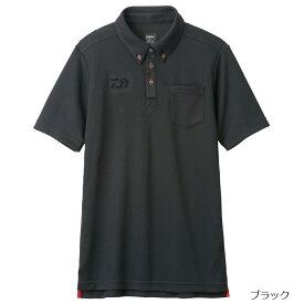 ダイワ ボタンダウンポロシャツ DE-6507 XL ブラック