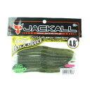 ジャッカル(JACKALL) フリックシェイク(FLICK SHAKE) 4.8インチ ウォーターメロンペッパー/クリアー