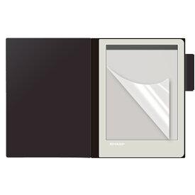 SHARP 電子ノート WG-S30 WG-S50 液晶 保護フィルム 【2枚セット】 シャープ WG S30 WG-S30-T WG-S30-B S50 50 電子 ノート メモ帳 メモ シート 透明 画面 傷 キズ 指紋 防止 反射 光沢 カバー 薄い うすい ina
