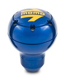 MOMO(モモ) シフトノブ ラウンドメタルブルー SK118