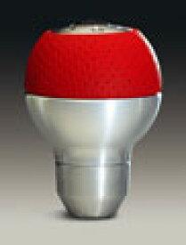 MOMO(モモ) シフトノブ RACE(レース) エアーレザー アルミニウムレッド SK26