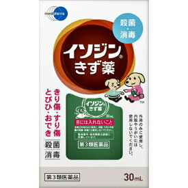 【第3類医薬品】イソジンきず薬 30ml皮膚の薬 切り傷 すり傷 液体 イソジン