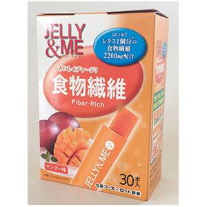 北辰フーズ JELLY & ME 食物繊維 マンゴーゼリー スティック 10g×30個入