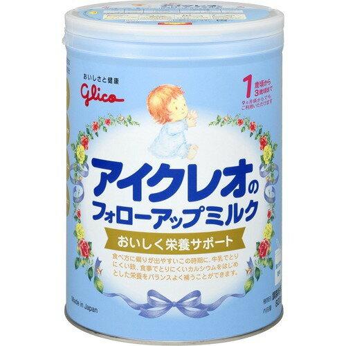 送料無料4個セット アイクレオ フォローアップミルク 820g粉ミルク アイクレオ グリコ ベビーミルク 離乳期 栄養サポート