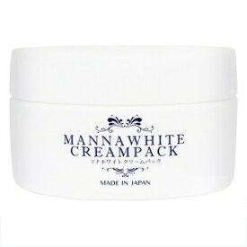 マナホワイト クリームパック 医薬部外品マナホワイト