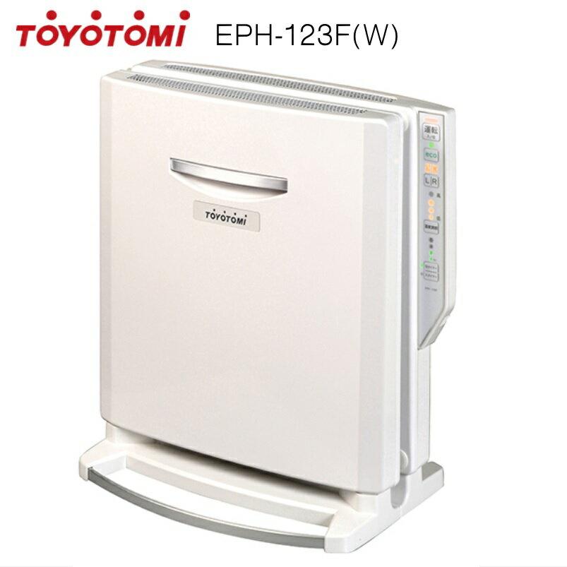 トヨトミ 遠赤外線 電気パネルヒーター EPH-123F(W) ホワイト 【3年保証】【あす楽対応_関東】【沖縄県発送不可】*