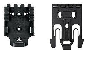 Safariland QUICK-KIT1-2 クイックロックシステム(QLS) オス1個とメス1個 クイックリリースキット ブラック