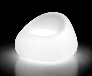 イタリア製デザイナーズファニチャー ガムボール・アームチェア ライト付き (高さ65cm) ユーロ3 プラストコレクション EP-6246L Plust Collection Gumball Armchair Light オブジェ チェア