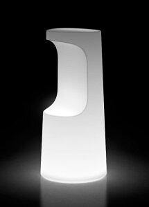 イタリア製デザイナーズファニチャー フラ・スツール ライト付き (高さ75cm 直径約34cm) ユーロ3 プラストコレクション EP-6294L Plust Collection Fura Stool Light オブジェ チェア