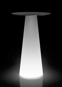 イタリア製デザイナーズファニチャー フラ・テーブル ライト付き (高さ98cm 直径約60cm) ユーロ3 プラストコレクション EP-6295L Plust Collection Fura Table Light オブジェ チェア