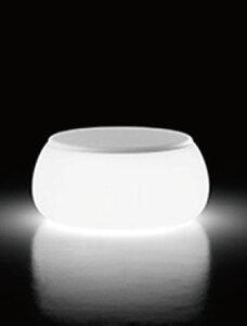 イタリア製デザイナーズファニチャー Tボール・テーブル ライト付き (高さ33cm 幅約77cm) ユーロ3 プラストコレクション EP-8248L Plust Collection T-ball Table Light オブジェ チェア